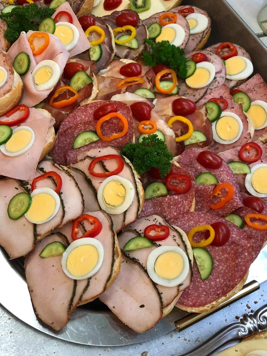 Partyservice Wurstplatte