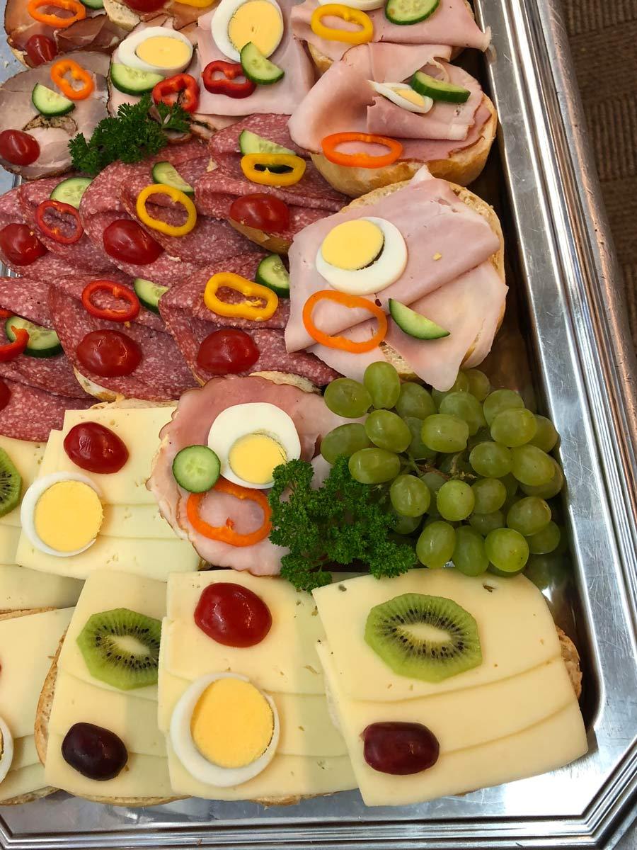 Partyservice Wurst Käseplatte